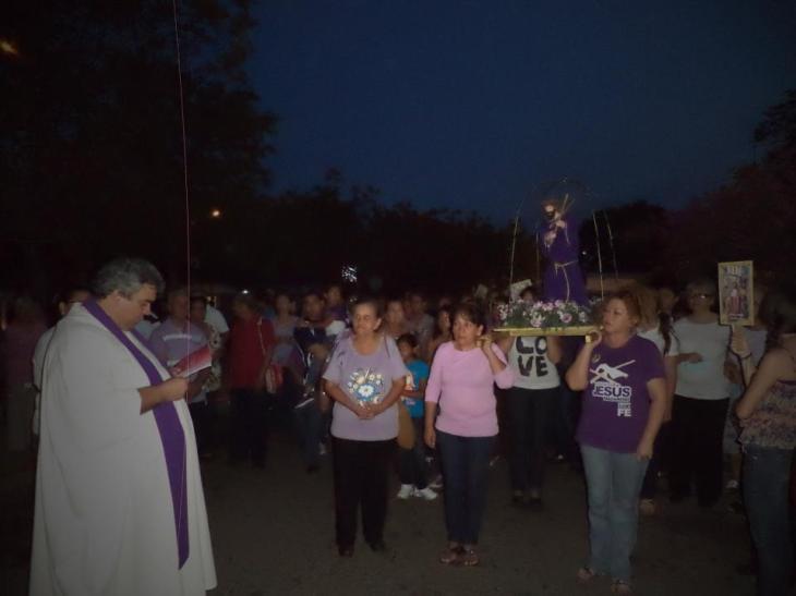 sacandao al nazareno Maracaibo