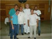 El Provincial con los juniores