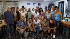 El equipo de educadores del Centro de Guanabacoa