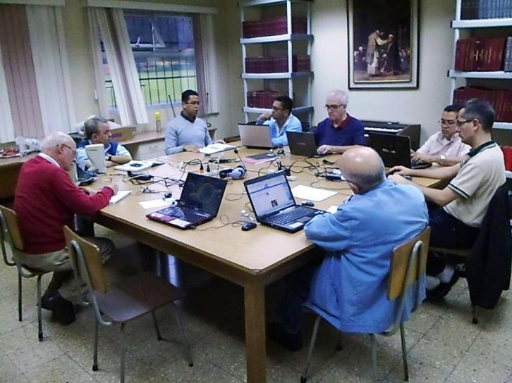 La CP con rectores y directores de la presencia escolapia en San José