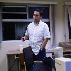 Rubén García explicando la propuesta de coordinación de fundaciones
