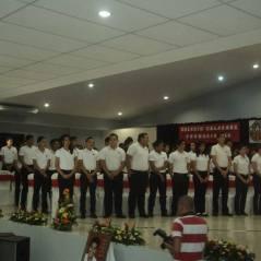 Gradución de los alumnos de 5º en managua