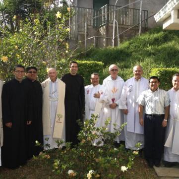 Juniorato Costa Rica: noviembre 2012