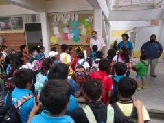 Con los niños de la Escuela de Tareas