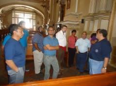 Visitando la capilla de Los Ángeles